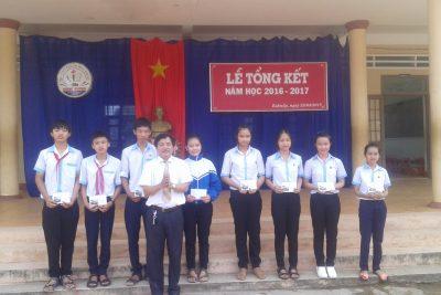 Lễ tổng kết năm học 2016-2017 tại trường THCS Hùng Vương