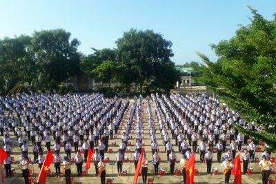 Lễ khai giảng năm học mới 2017-2018 trường THCS Hùng Vương