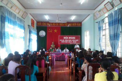 Hội nghị cán bộ, công chức, viên chức trường THCS Hùng Vương