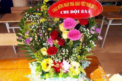 Hội thi cắm hoa chào mừng ngày nhà giáo Việt Nam
