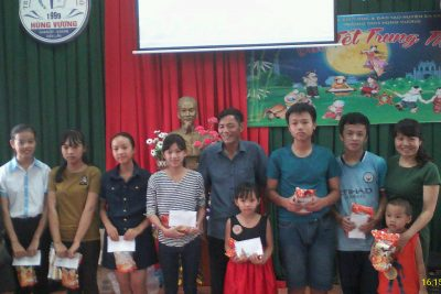 Ngày hội trung thu tại trường THCS Hùng Vương